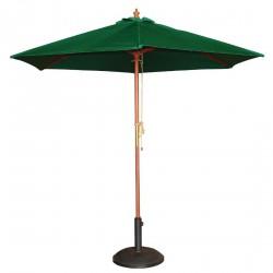 Parasol rond vert diamètre 2,5m Bolero