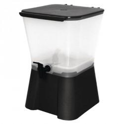 Distributeur de boissons noir Olympia 11 litres