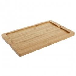 Planche support en bois Olympia pour plat en ardoise CM063 330x210x15mm