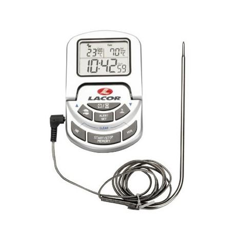 Thermomètre numérique pour le four avec sonde