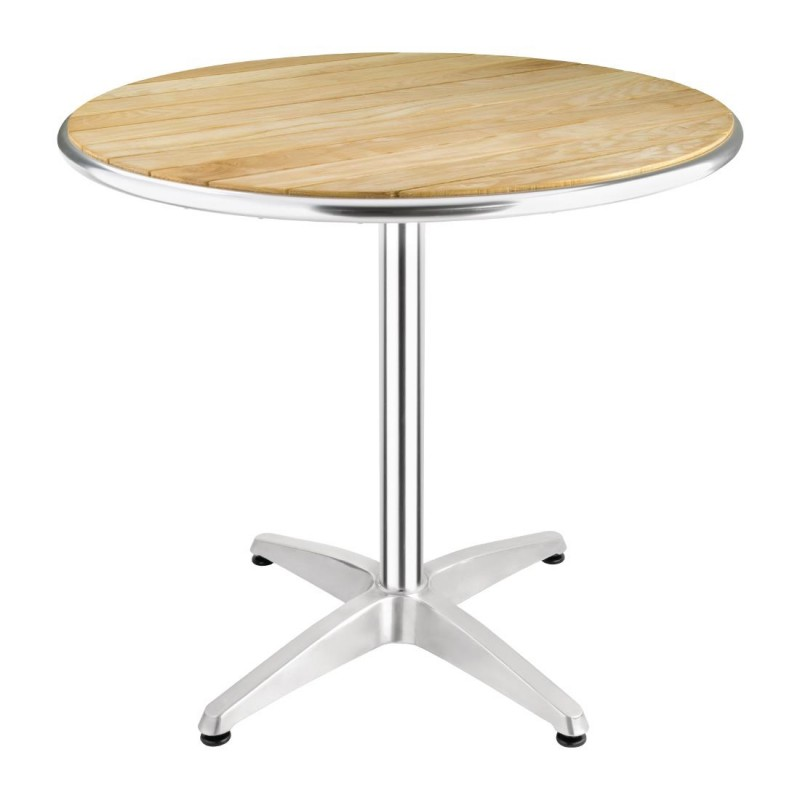 Table Bistro Ronde En Frêne 800mm Bolero