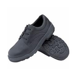Chaussure de sécurité unisexe noire Slipbuster