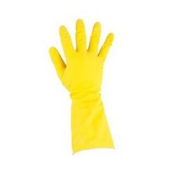 Gant en latex léger jaune